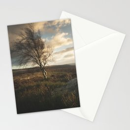 Dramatic Skies Over The Peak District Stationery Cards