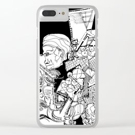 multi personality Clear iPhone Case