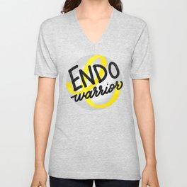 ENDO Warrior - Endometriosis Awareness Art - Advocate Unisex V-Neck