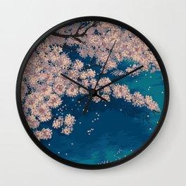 Ohanami Wall Clock