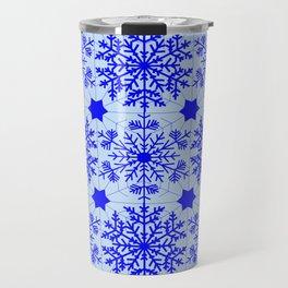 Anitque snowflake (Option 2) Travel Mug