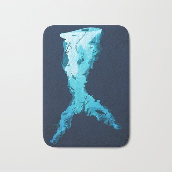 Riches Under the Sea Bath Mat