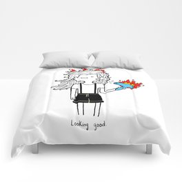 On Fire by Sarah Pinc Comforters