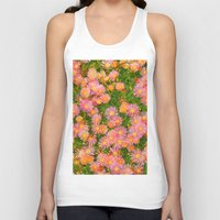 blanket Tank Tops featuring Daisy Blanket by Kaitlynn Lewis