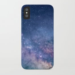 Milky Way Stars (Starry Night Sky) iPhone Case