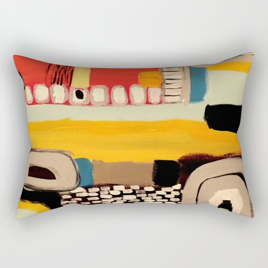 chemins Rectangular Pillow