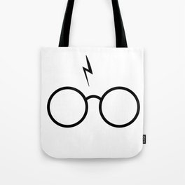 Spectacle Boy Tote Bag