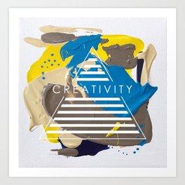 Miniature Original - creativity Art Print