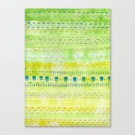 Meadow Stitch Canvas Print