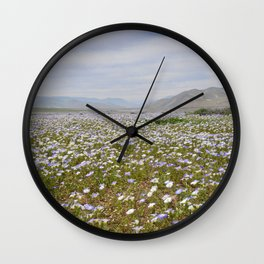 Lush Meadow Wall Clock