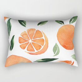 Summer oranges Rectangular Pillow