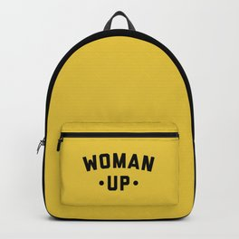 Woman Up 2 Feminist Saying Backpack