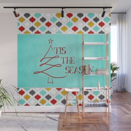 Tis the Season Wall Mural
