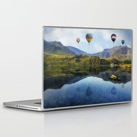 aviation Laptop & iPad Skins featuring Morning Flight by Ian Mitchell