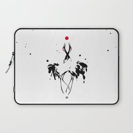transcenDance // (crane) Laptop Sleeve