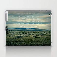 Whitman: Earth Laptop & iPad Skin