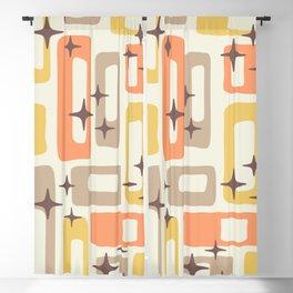Mid Century Modern Geometric Abstract 133 Blackout Curtain