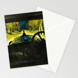 The Enchanted Road by Frank O Salisbury Stationery Cards