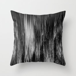 rain drop night Throw Pillow
