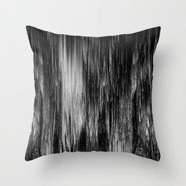 rain drop night Throw Pillow