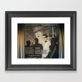 At Cinema Framed Art Print