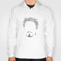 tony stark Hoodies featuring Tony Stark by  Steve Wade ( Swade)