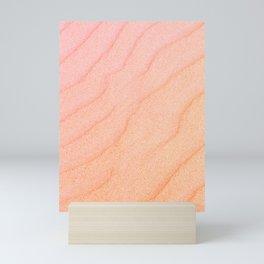 Sand Wave - Beautiful Ripple Mini Art Print