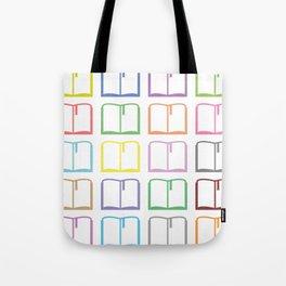 Livres hauts en couleur Tote Bag