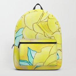 Neutral Rose Watercolor Backpack