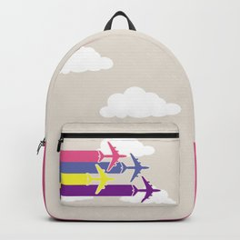 Colorful airplanes Backpack