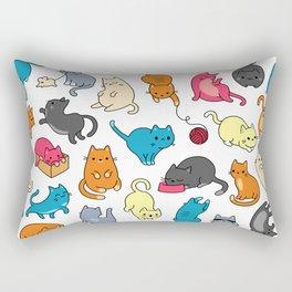 hey kitty kitty Rectangular Pillow