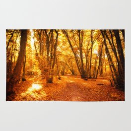 Forest Warmth of Mead Dreams Rug
