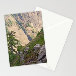 SHUKSAN ARM IN MORNING LIGHT FROM KULSHAN RIDGE Stationery Cards