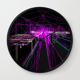 Tunnel View Wall Clock