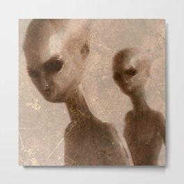 Aliens by Raphael Terra Metal Print