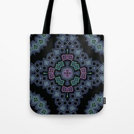 Embroidered beads pattern 1 Tote Bag