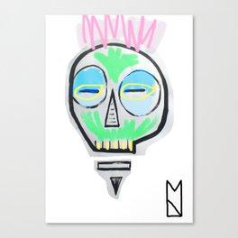 Tiki Skull Canvas Print