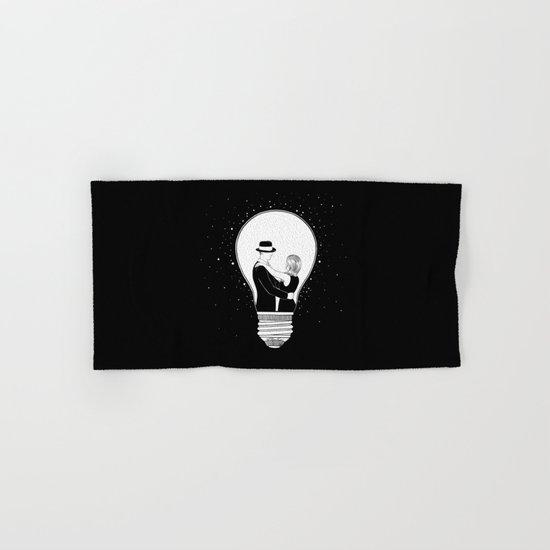 We light up the dark Hand & Bath Towel