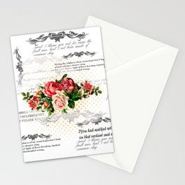 FLORAL 3 Stationery Cards