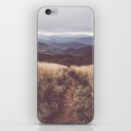 Bieszczady Mountains - Landscape and Nature Photography iPhone Skin