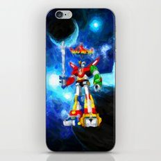 Voltron - Painting Style iPhone & iPod Skin