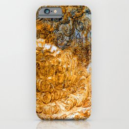 Leonardo da Vinci Deluge iPhone Case