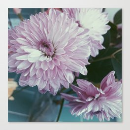 Pink and purple bouquet Canvas Print