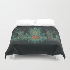 The Crown of Cthulhu Duvet Cover
