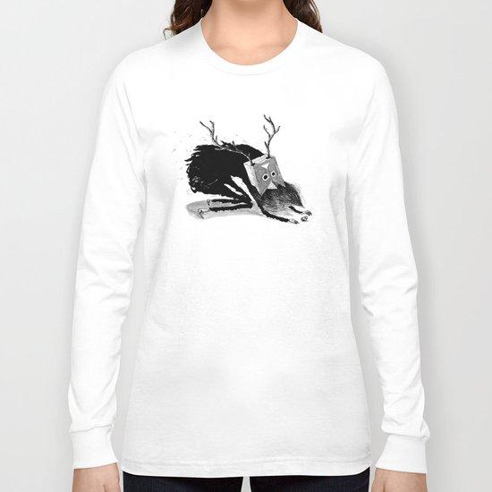 Le Shaman Vetu De Noir Long Sleeve T-shirt
