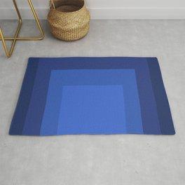 Block Colors - Blue Rug