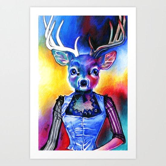 Reh Rote Art Print