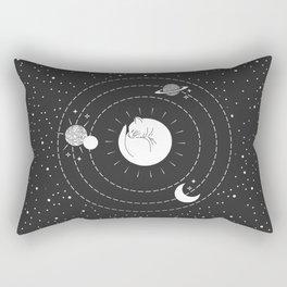 The Space Cat Rectangular Pillow