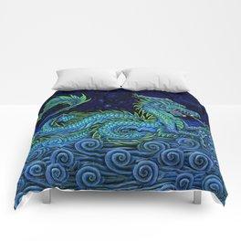 Chinese Azure Dragon Comforters