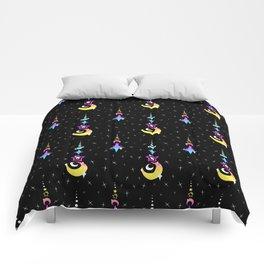 CMYK Moon Drop Comforters